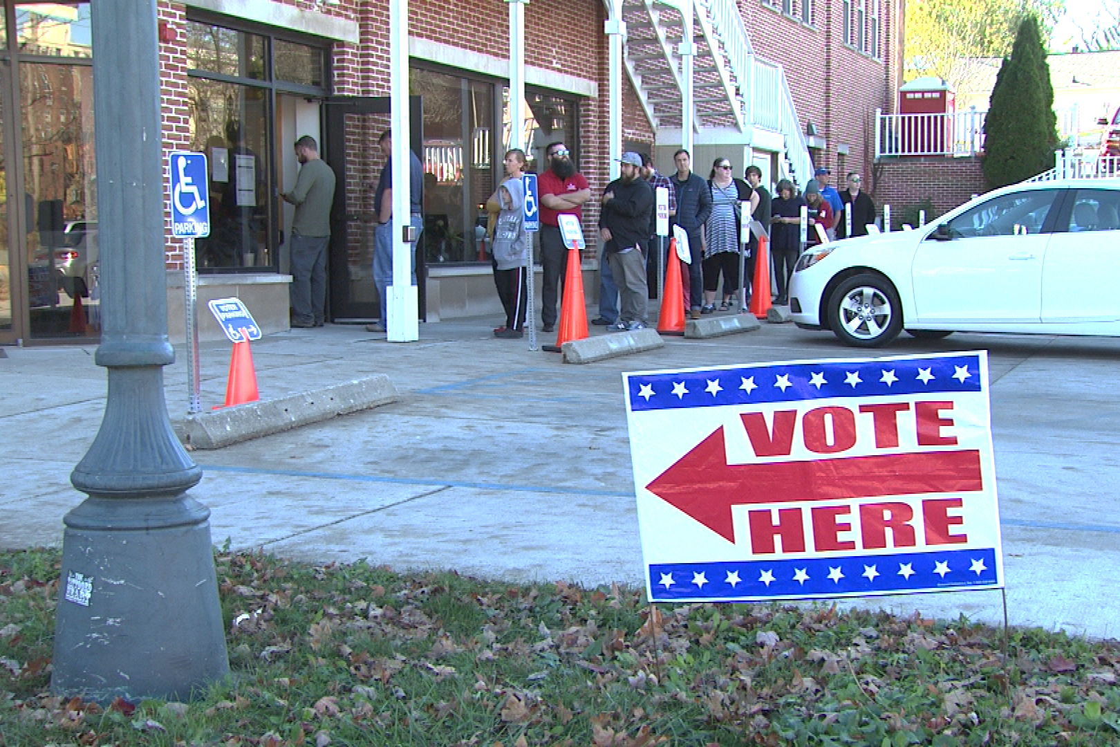 Polls are open 6 a.m. to 6 p.m. Tuesday.