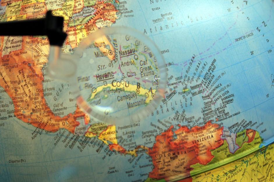 World Cuba Globe