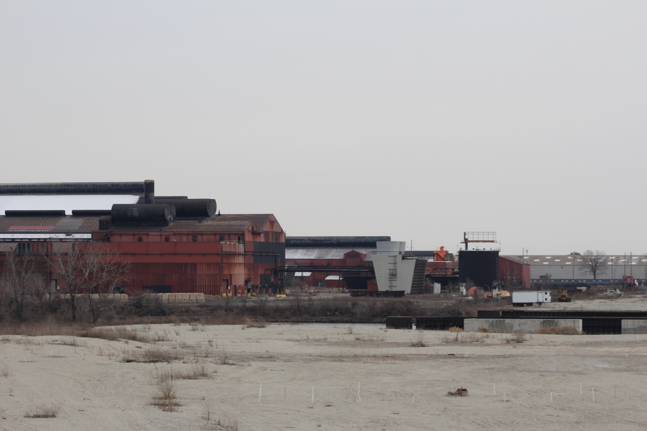 Steel mills like ArcelorMittal Indiana Harbor in Northwest Indiana could be affected by even the threat of a trade war.
