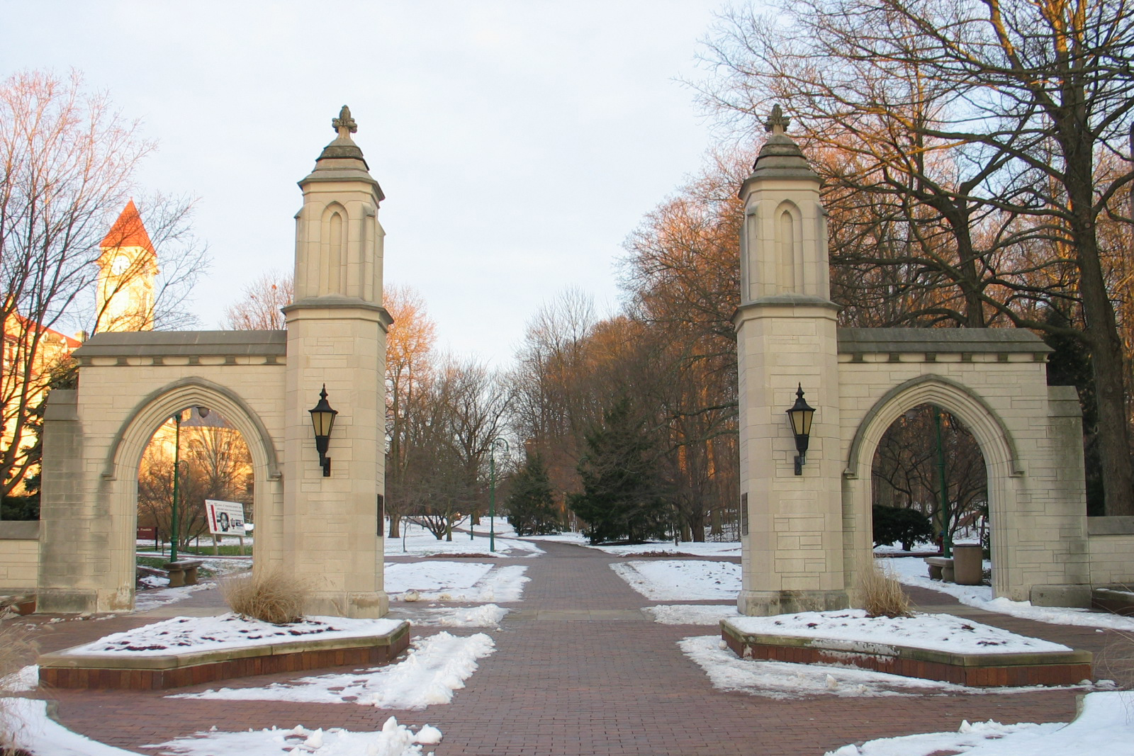 IU Bloomington Sample Gates.