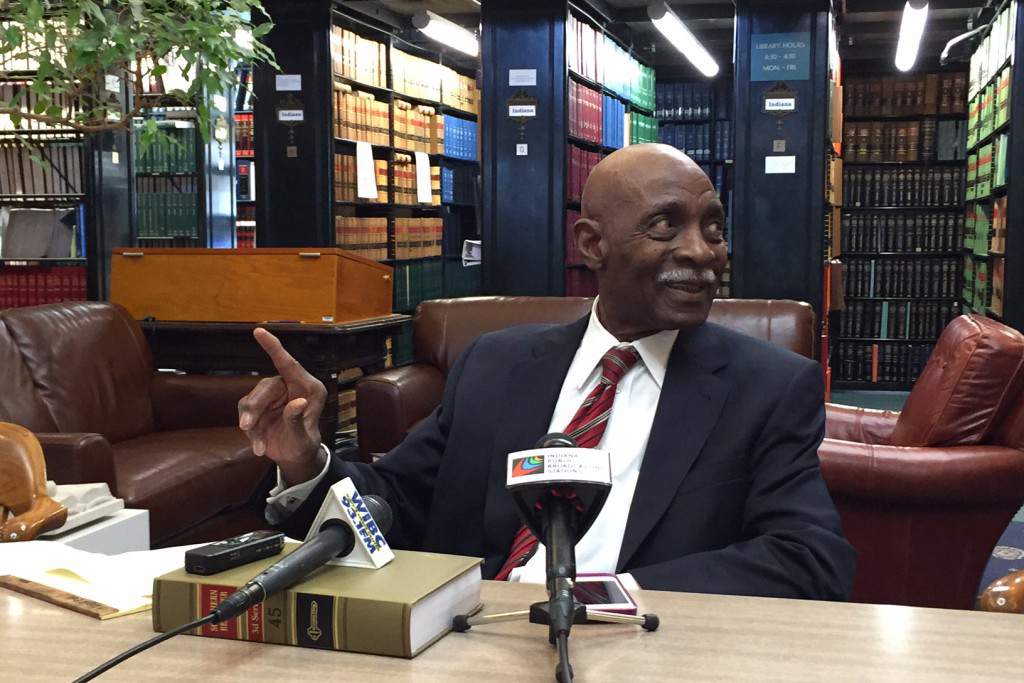 Indiana Supreme Court Chief Justice Robert Rucker discusses his pending retirement.