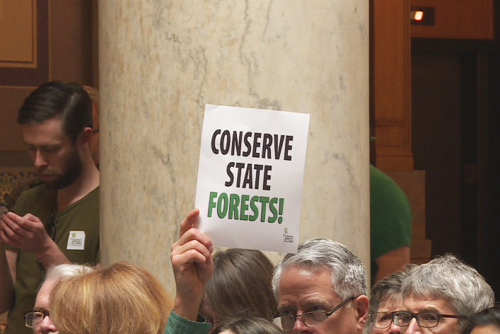 Hundreds of Hoosiers gathered at the Statehouse Monday in favor of SB 420.
