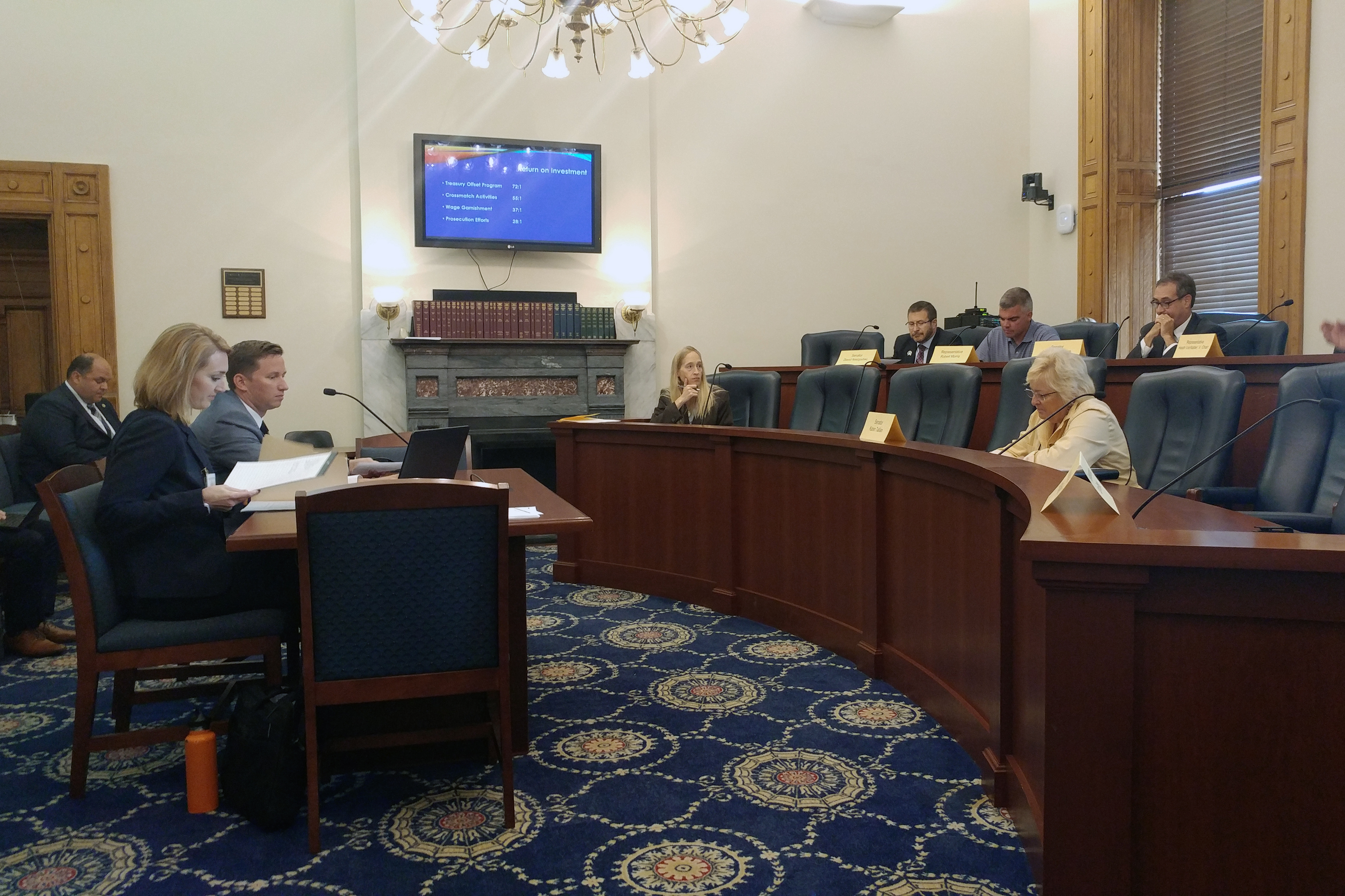 Lawmakers weren't happy at what they felt was missing Tuesday from an update on Indiana's unemployment insurance program.