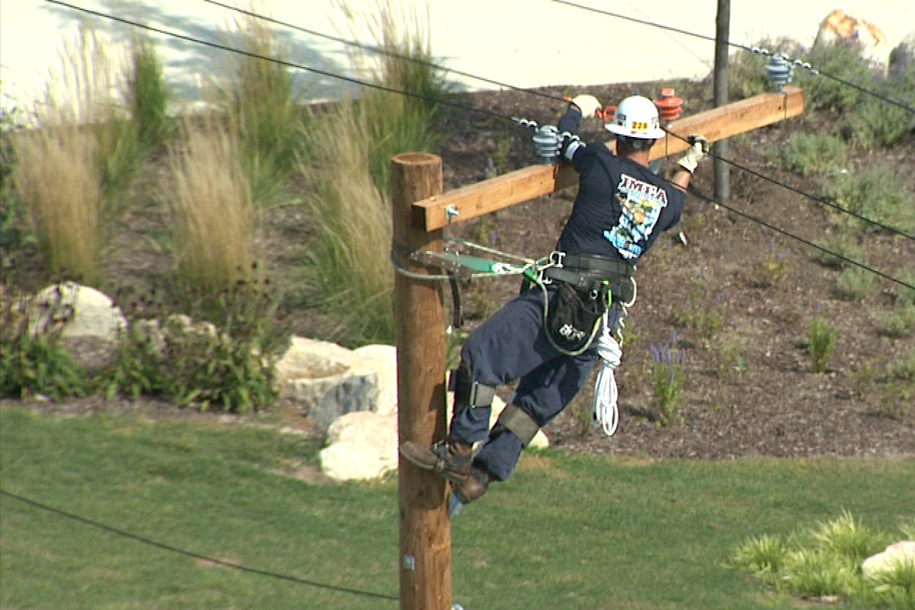 The annual Lineman Rodeo showcases the skills lineman perform in their day-to-day jobs.