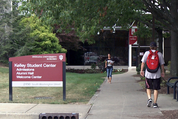 Overall, IU enrollment is slightly down - but IU Kokomo's student enrollment went up.