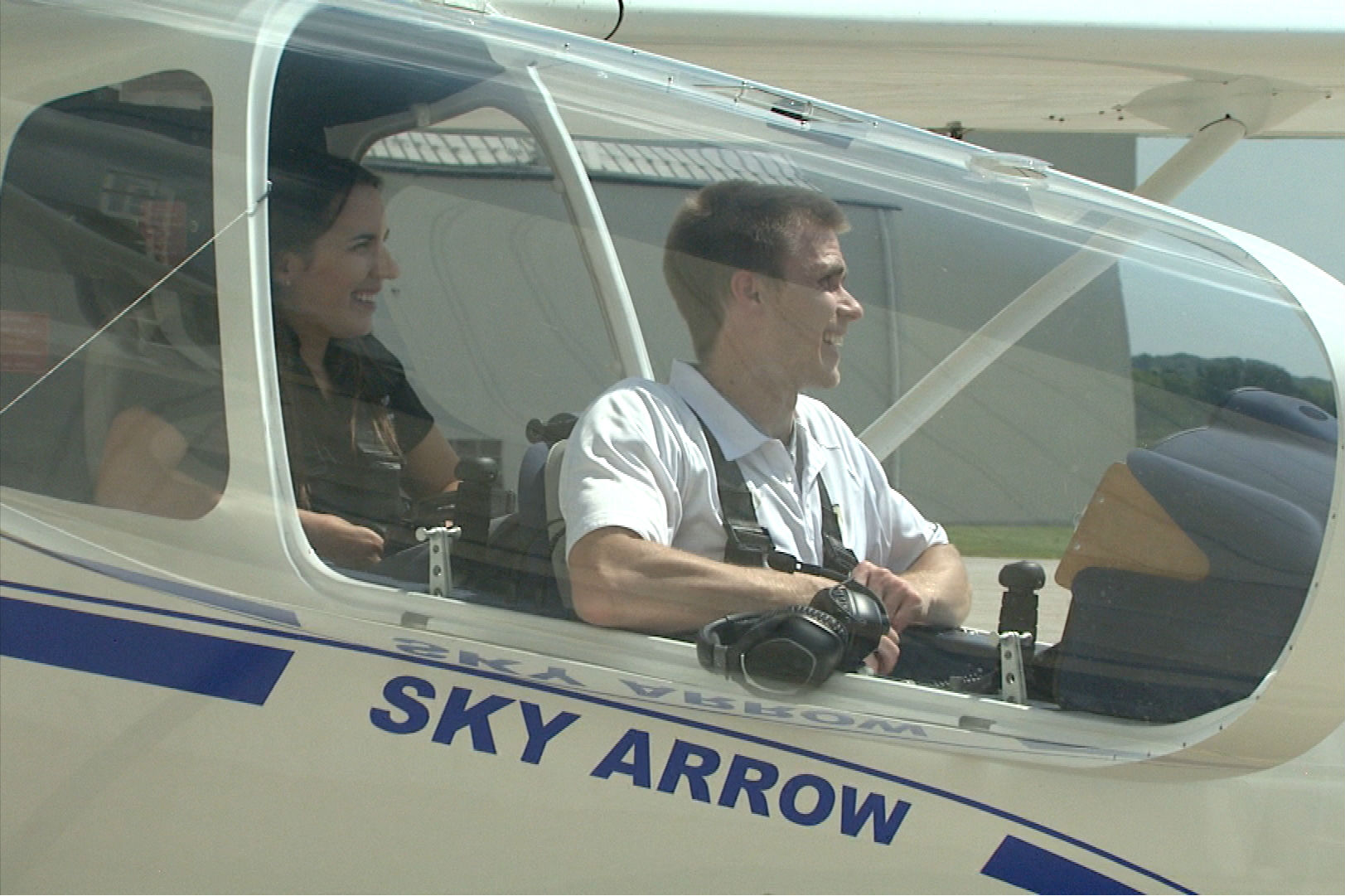 Able Flight students train with certified flight instructors throughout the program.