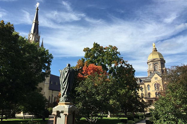A University of Notre Dame graduate is donating $100 million to the university.