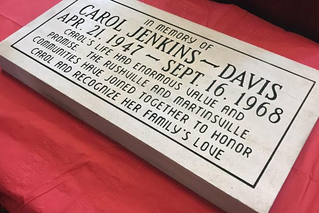 Carol Jenkins-Davis stone