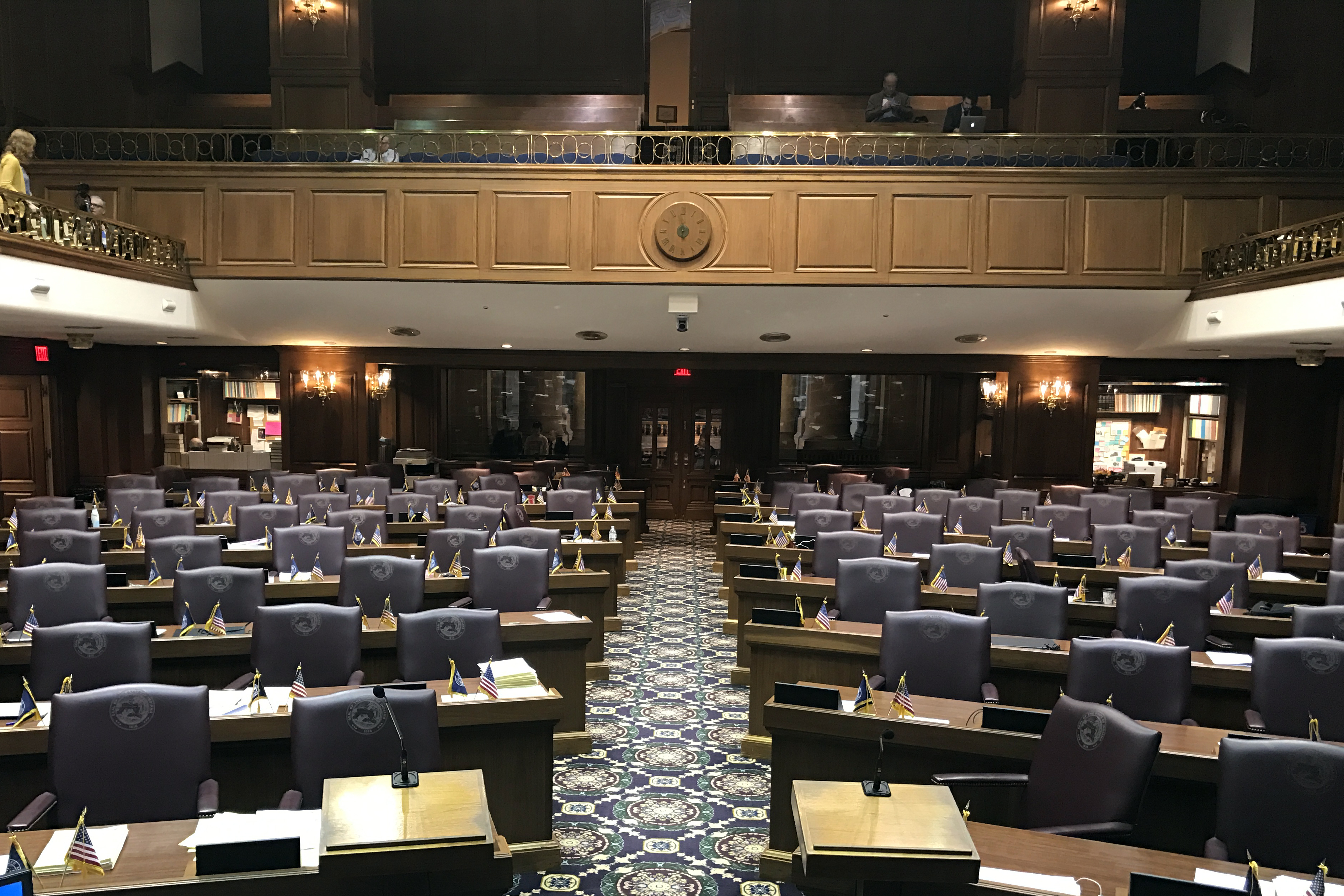 Lawmakers met Tuesday for what's called Organization Day, the ceremonial start to the 2018 legislative session.