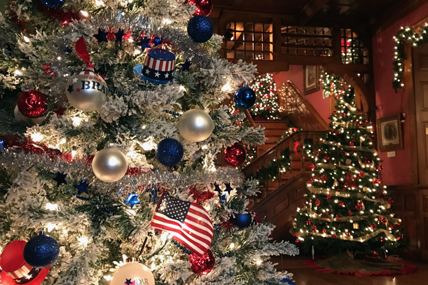 Kokomo's Seiberling Mansion is almost ready to reopen for the holidays.