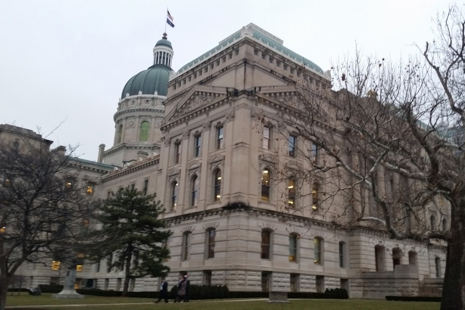 The Indiana Statehouse