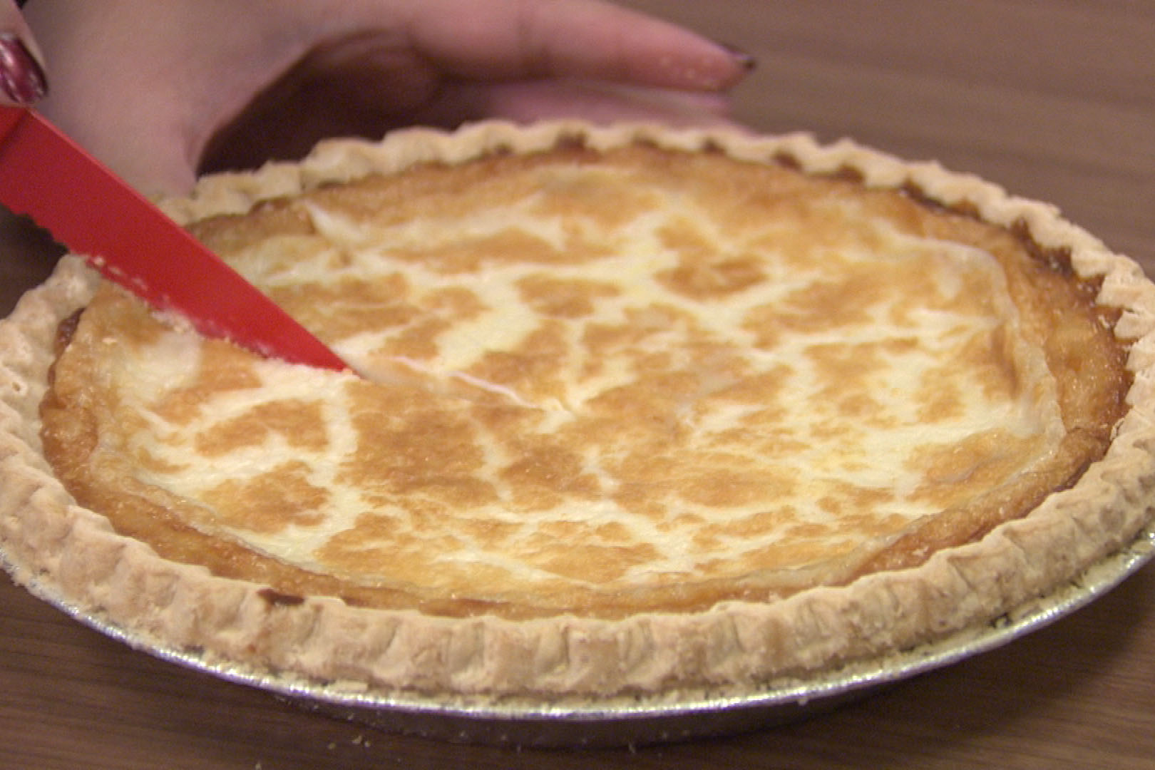 Sugar cream pie enthusiasts say there are no eggs in authentic recipes.