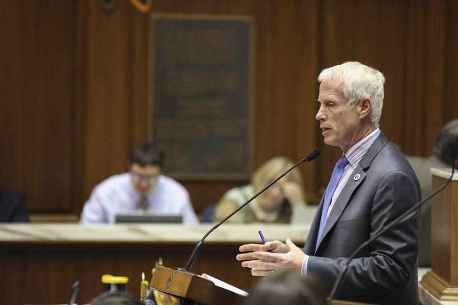Rep. Bob Behning (R-Indianapolis) has been chair of the House Education Committee since 2011.