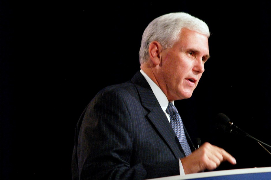 Pence could cast the tie-breaking vote on the tax package.