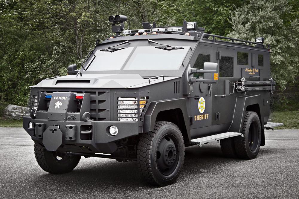 Bloomington purchased a Lenco BearCat G2 (Lenco Armored Vehicles)