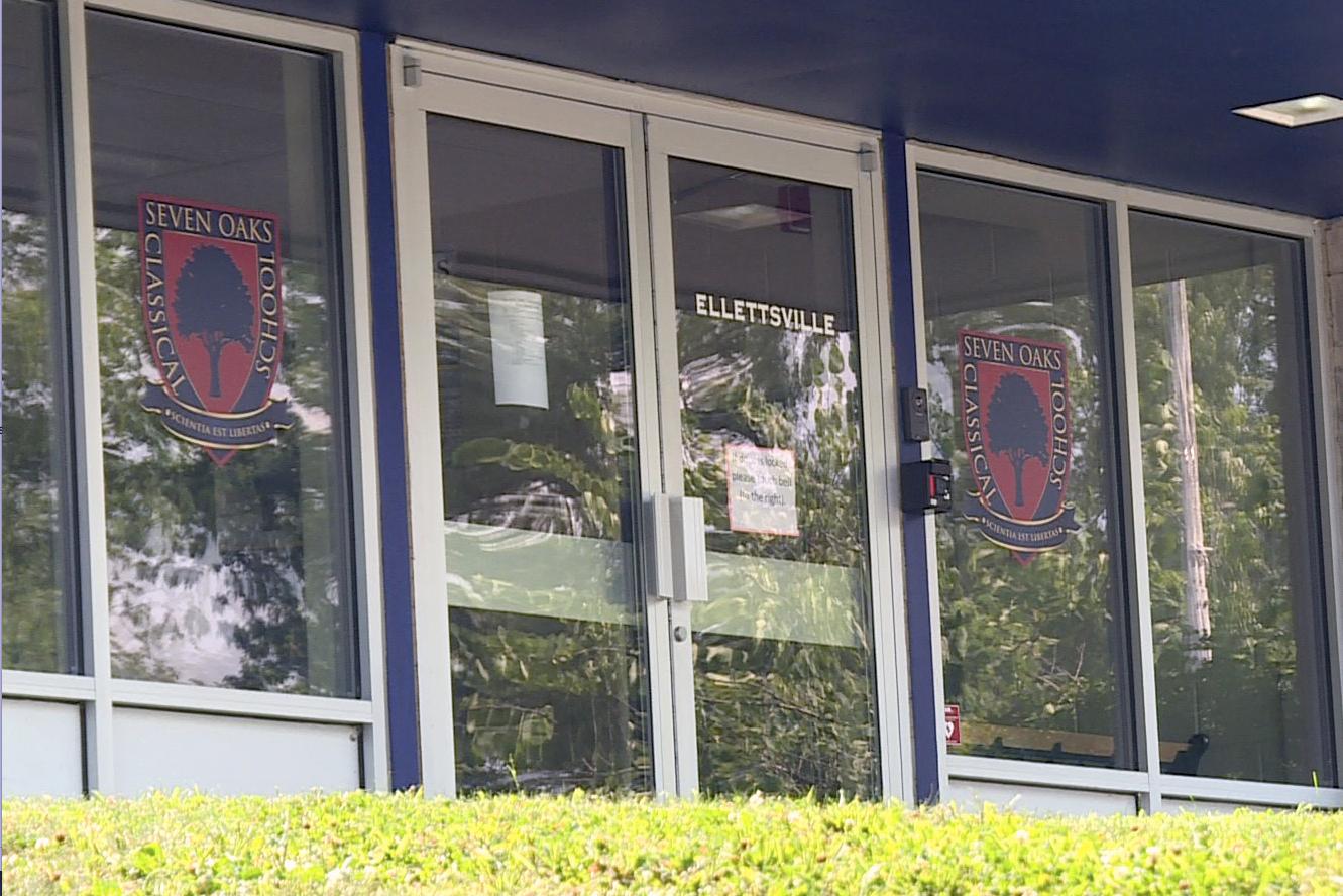 Seven Oaks Classical School in Ellettsville (WFIU/WTIU News)