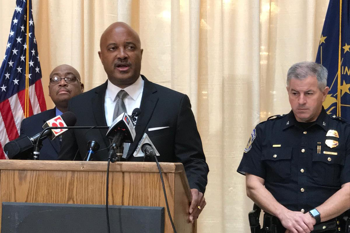 Curtis Hill was the longtime Elkhart County prosecutor before easily winning election in 2016 as Attorney General (Brandon Smith, IPB News file photo)