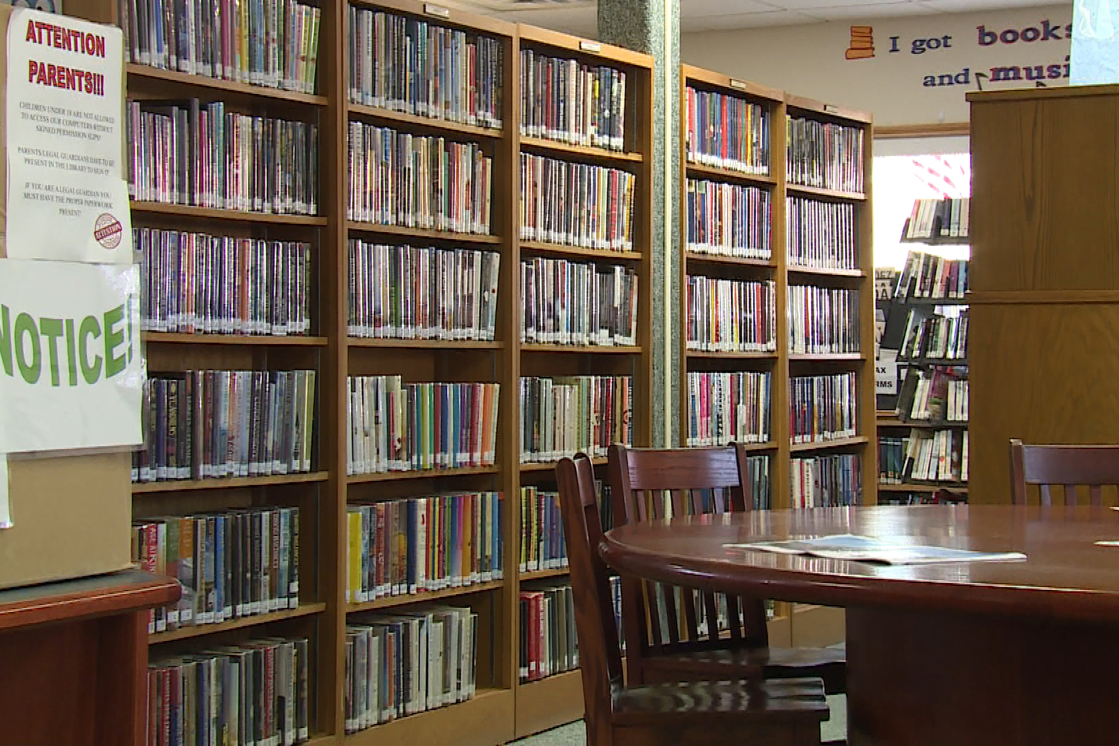 The library offered nearly 300 special programs last year (Steve Burns, WFIU/WTIU News).