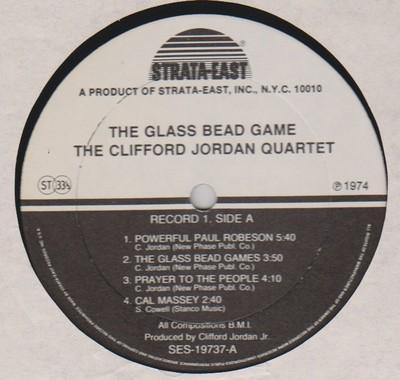 Clifford Jordan Glass Bead Game