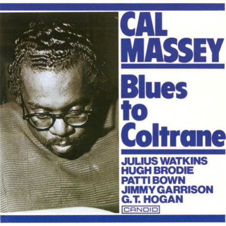 Cover of Cal Massey's BLUES TO COLTRANE album.