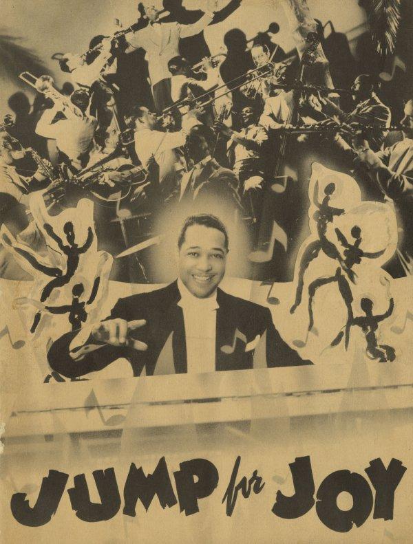 """The program for Duke Ellington's musical """"Jump For Joy."""""""
