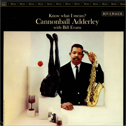 Cover for Cannonball Adderley and Bill Evans' album.