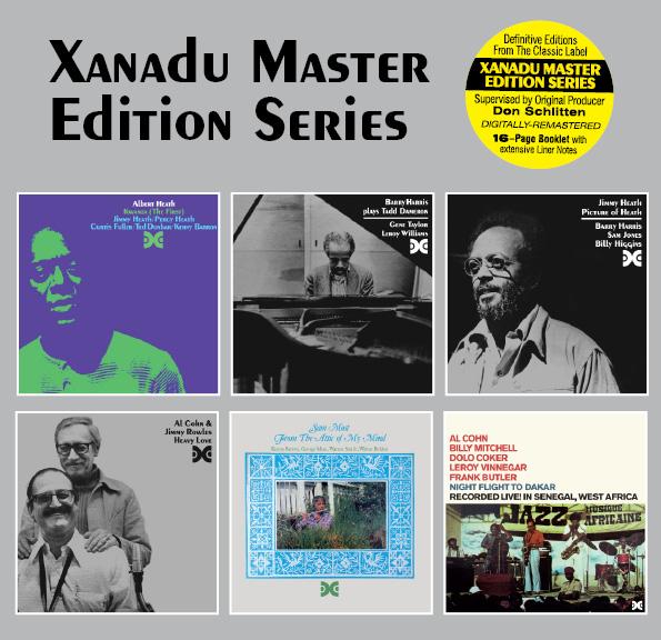 CDs from the Xanadu reissue series.