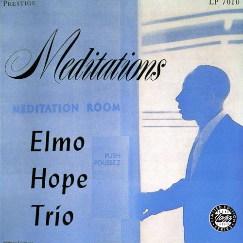 The LP cover for pianist Elmo Hope's Meditations