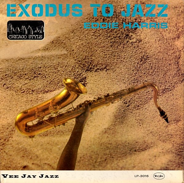 LP cover of Eddie Harris' Exodus To Jazz