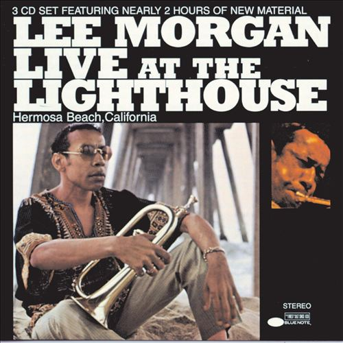 Cover of Lee Morgan's Live at the Lighthouse album.