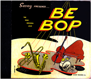 cover of Savoy bebop LP