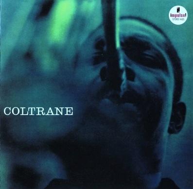 Front of John Coltrane's eponymous 1962 Impulse LP