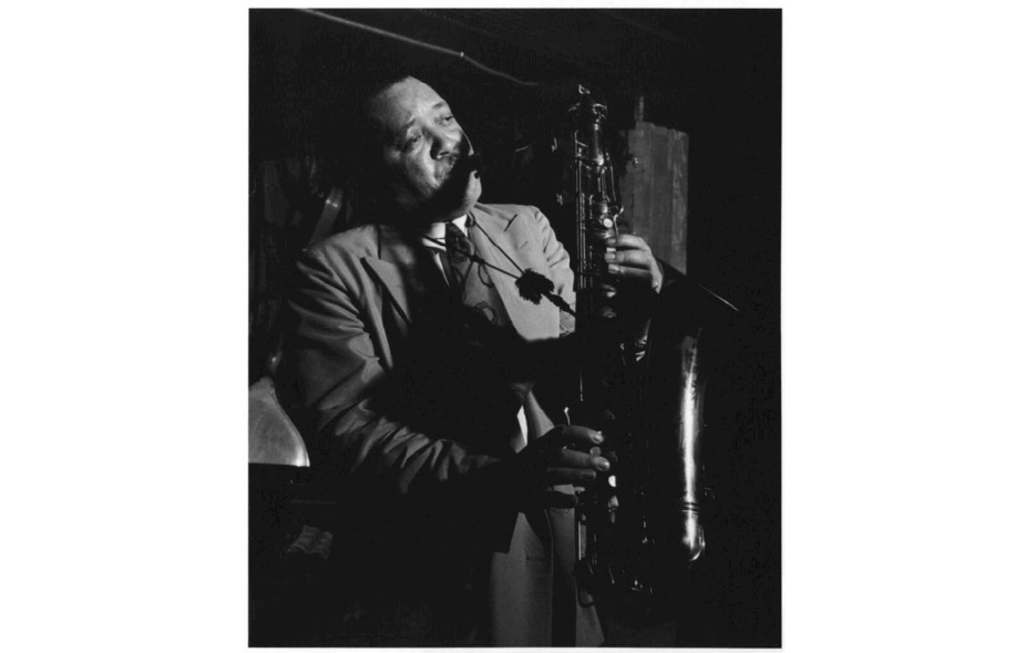 Photo of Lester Young in 1946