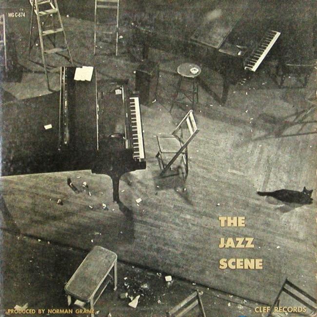 Cover of The Jazz Scene LP