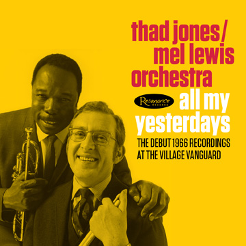 Cover of Thad Jones Mel Lewis Resonance CD