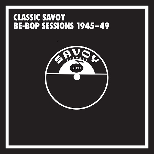 Front cover of Mosaic Records Savoy set
