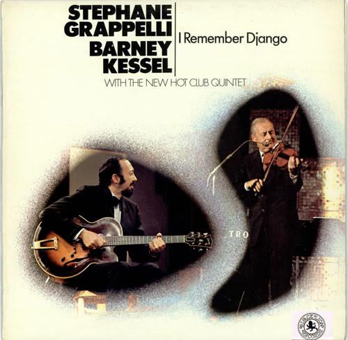 Cover of I Remember Django LP