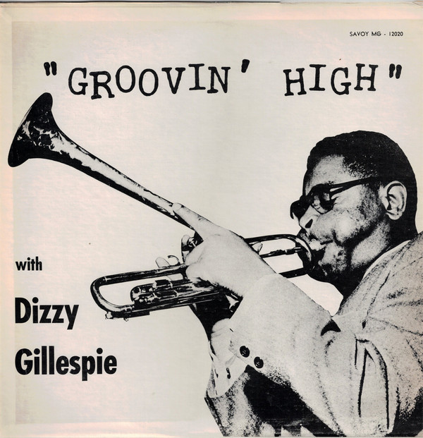 Front cover of Dizzy Gillespie Savoy LP