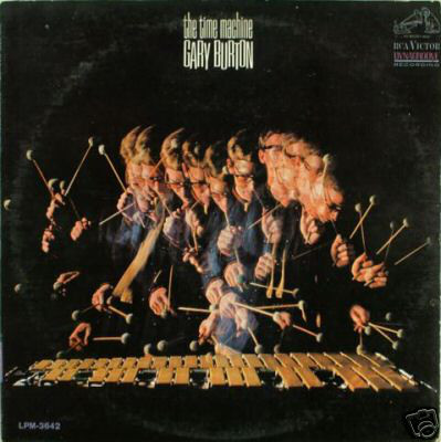 Cover of Gary Burton's 1966 LP The Time Machine