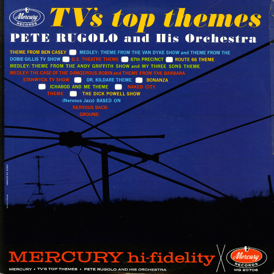 Tube tunes:  jazz artists and arranger/composers often created or interpreted program themes in the opening decades of the television age.