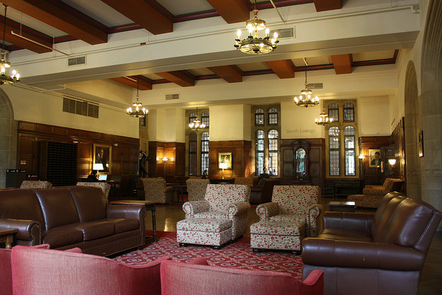 Lounge in the Indiana Memorial Union