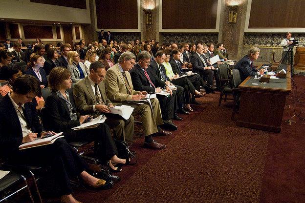 Senate hearing on the farm bill in 2010.