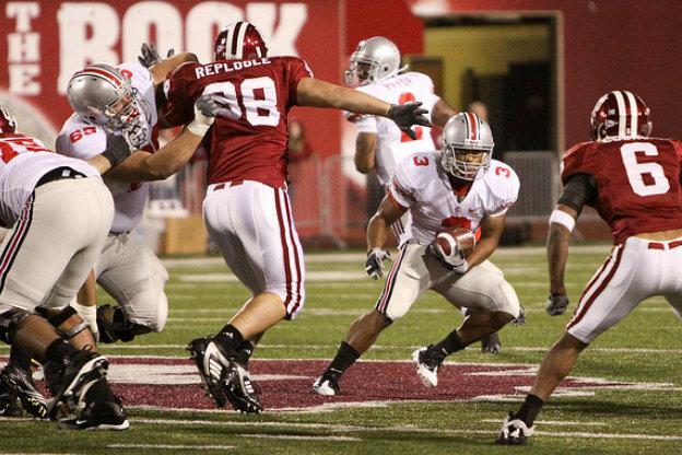 Indiana University versus Ohio State football game.
