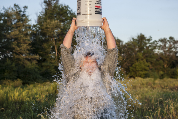The ALS Ice Bucket Challenge has made its way through various forms of social media.