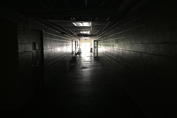 A hallway in Seven Oaks
