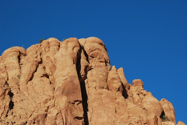 red rock formation