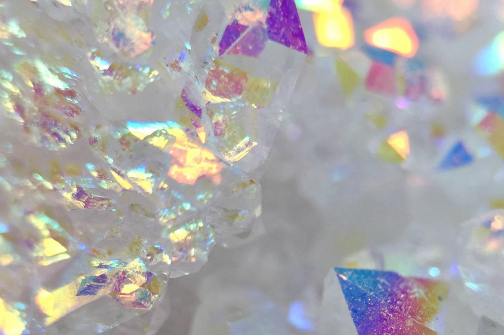 """…I dream inside / a jewelcasket, misted in microcrystalline."" –from ""sensorium"" (rioreason)"