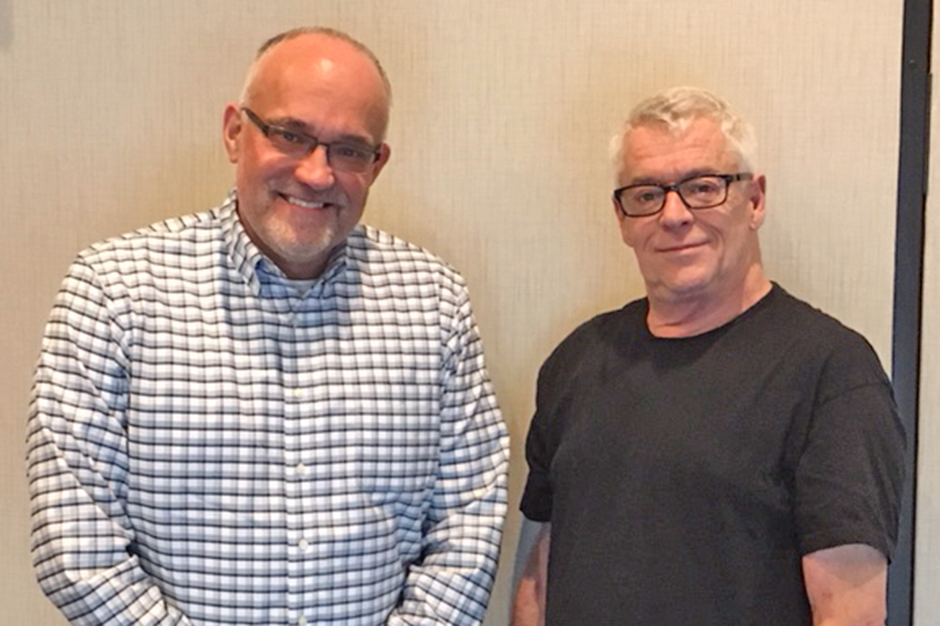Steve Sanders and Cleve Jones