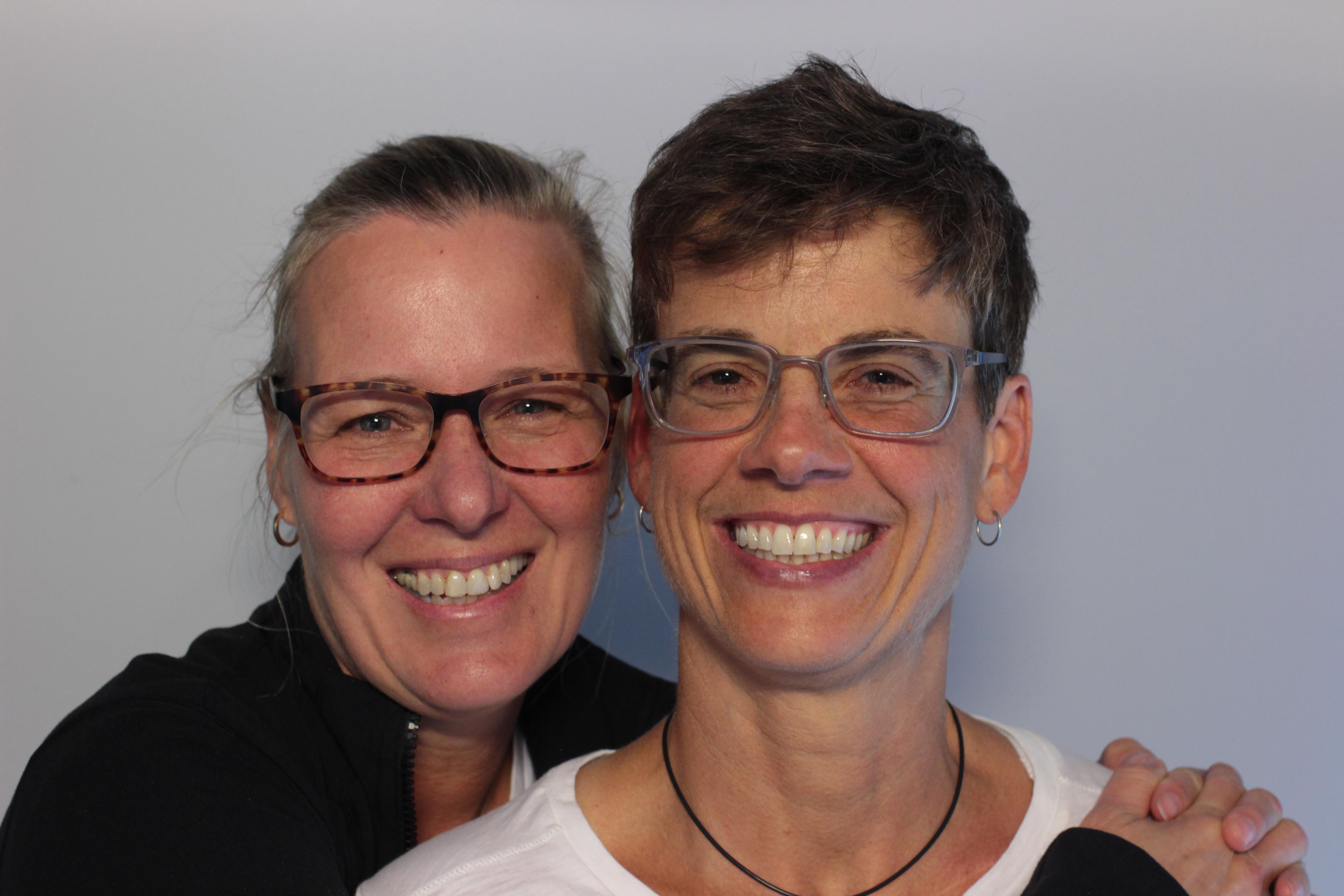 Suzanne Aquila and Katie Weismiller